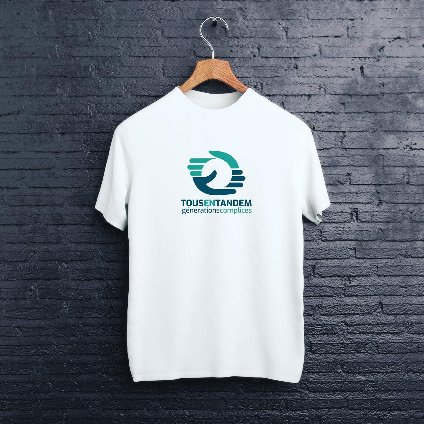 tous-en-tandem-logo-tee-shirt